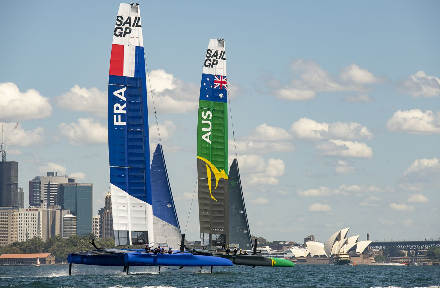 Ocean Club – Close to the action at the 2019 Sydney SailGP