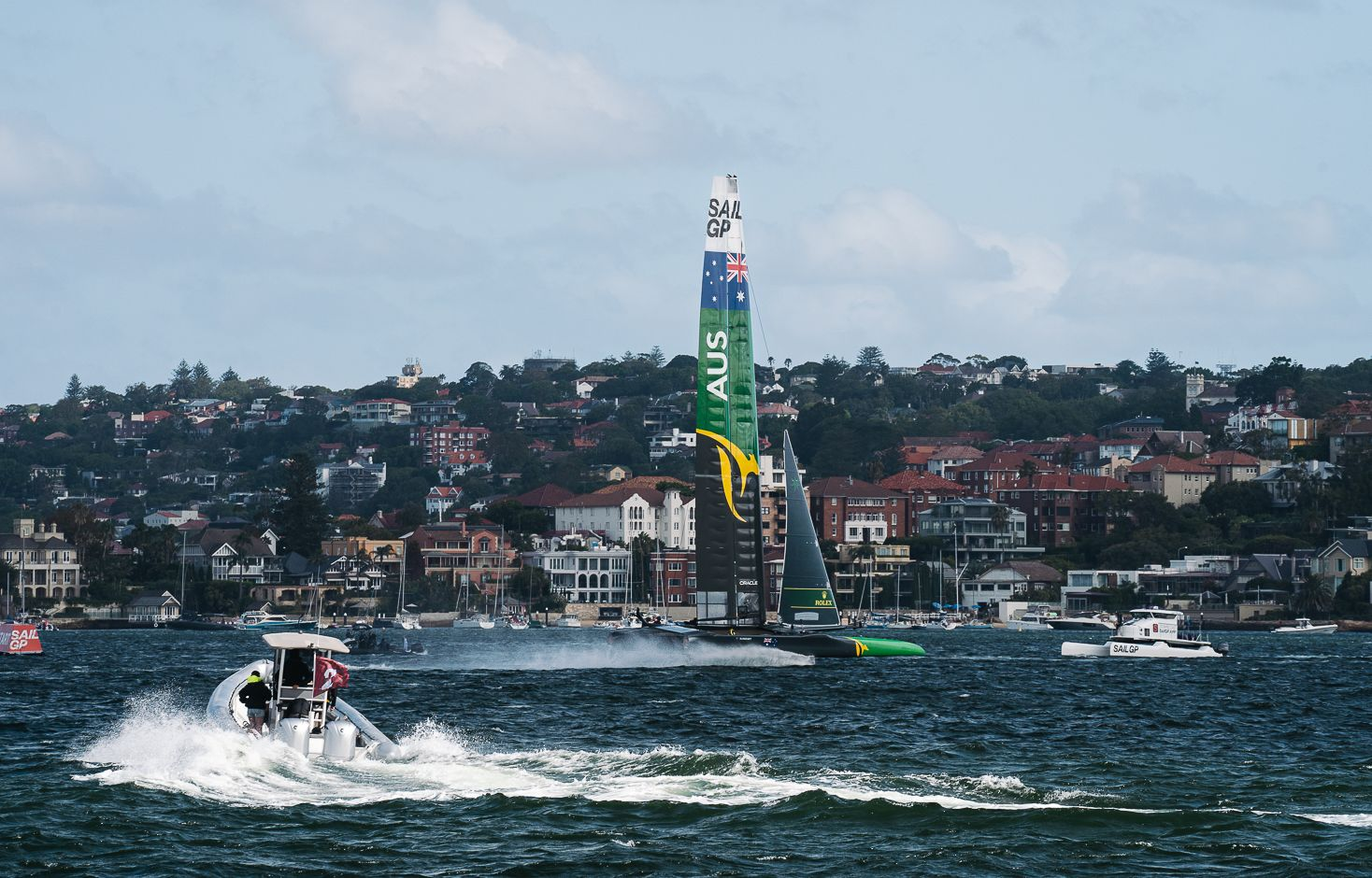 Ocean Club – All the action from Sydney SailGP 2020